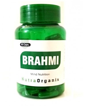 Buy Best Herbal Brahmi Capsules For Immune Boosting - Nutraorganix