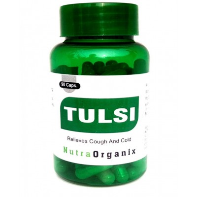 Herbal Tulsi Holy Basil Capsules Online - Best Tulsi Capsules Bottles In USA - Tulsi Capsules Supplier | Nutraorganix
