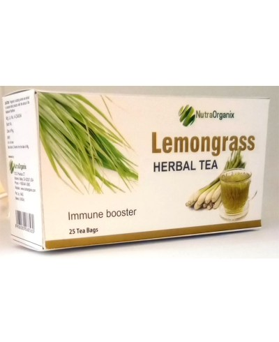 Buy Best Lemongrass Tea Bags Online - Herbal Lemongrass Tea Online In Bulk | Nutraorganix